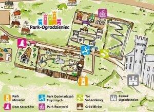 mapa-parku-rozrywki-ogrodzieniec